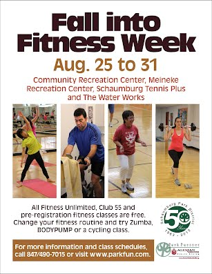 Fall into Fitness Week